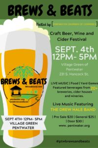 Brews & Beats - Craft Beer, Wine and Cider Festival - SOLD OUT! @ Village Green   Pentwater   Michigan   United States
