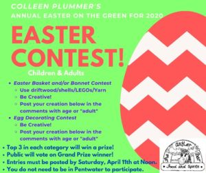 Colleen Plummer's Easter on the Green - VIRTUAL CONTEST INSTEAD OF OUTDOOR ACTIVITIES @ Village Green | Pentwater | Michigan | United States