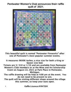 Wine & Art Scholarship Fundraiser @ Park Place | Pentwater | Michigan | United States
