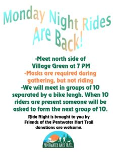 Monday Night Rides @ Village Green | Pentwater | Michigan | United States