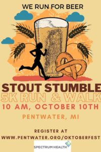 Stout Stumble 5K Run/Walk @ Pentwater