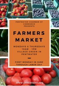 Farmer's Market @ Village Green | Pentwater | Michigan | United States
